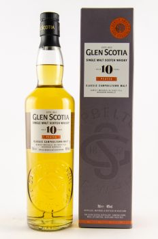 Glen Scotia 10 y.o. peated Campbeltown Malt