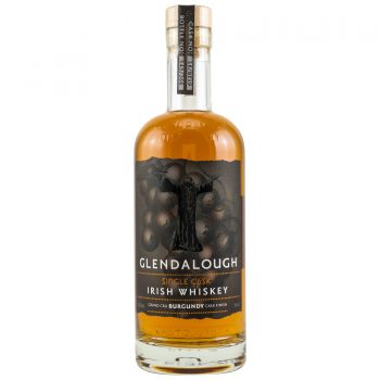 Glendalough Single Cask Irish Whiskey Grand Cru Burgundy Finish