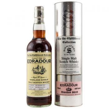 Edradour 2010/2021 Signatory Single Cask Scotch Whisky