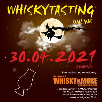 Whisky-Tasting at home am 30. April 2021