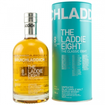 Bruichladdich The Laddie Eight Unpeated Islay Single Malt Whisky 8y.o.
