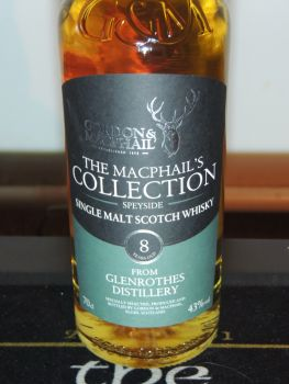 Glenrothes 8 y.o. MacPhails Collection