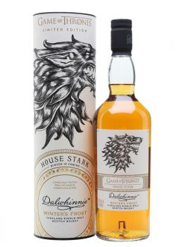 Dalwhinnie Winter's Frost Single Malt House Stark Game Of Thrones Limited Edition