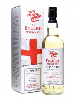 The English Whisky Co. Chapter 3 Single Malt Spirit 2007/2009