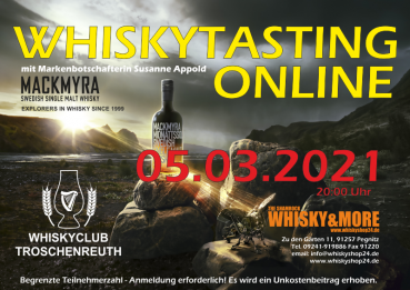 Mackmyra-Special-Whisky-Tasting at home am 05.03.2021